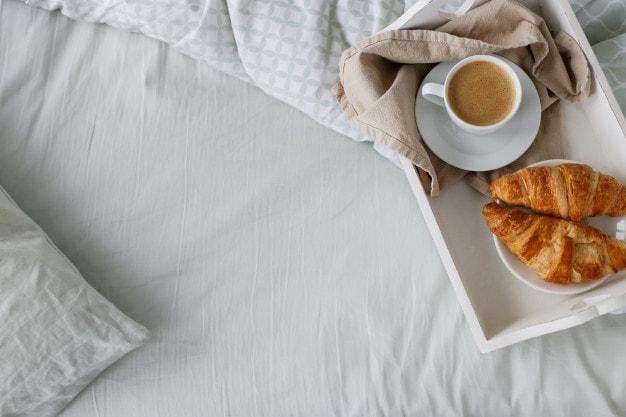 11 Wonderful Ways to Celebrate Valentine's Day in 2021- breakfast in bed