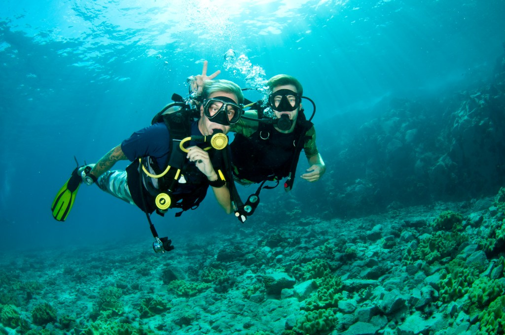 Top 9 most fascinating adventure sports that you should definitely try-Scuba-Diving