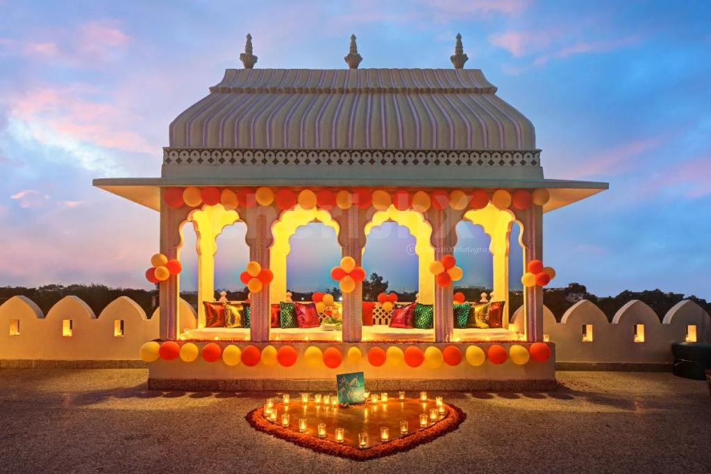 10 Safe Places to go on a Date this Valentine's Day 2021 in Jaipur- alsisar heritage hotel