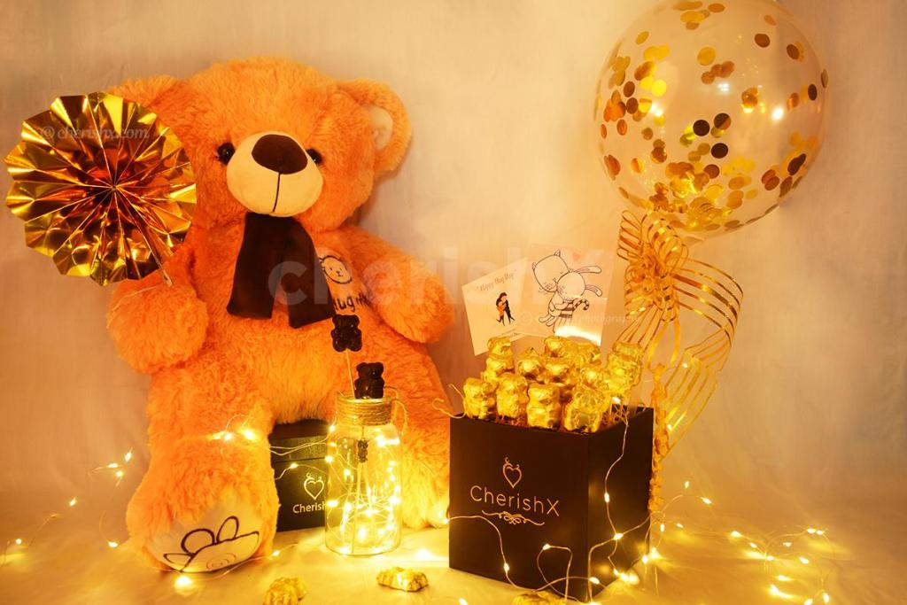 Top 7 Irresistibly Awesome Teddy Day Surprises That Will Make Your Partner Crazy for you- teddy day bucket