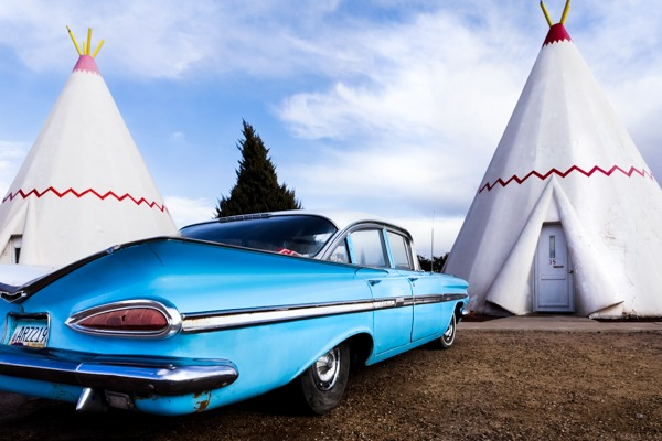 Hollbrook, Arizona, United States. Tee Pee Motel. Route 66