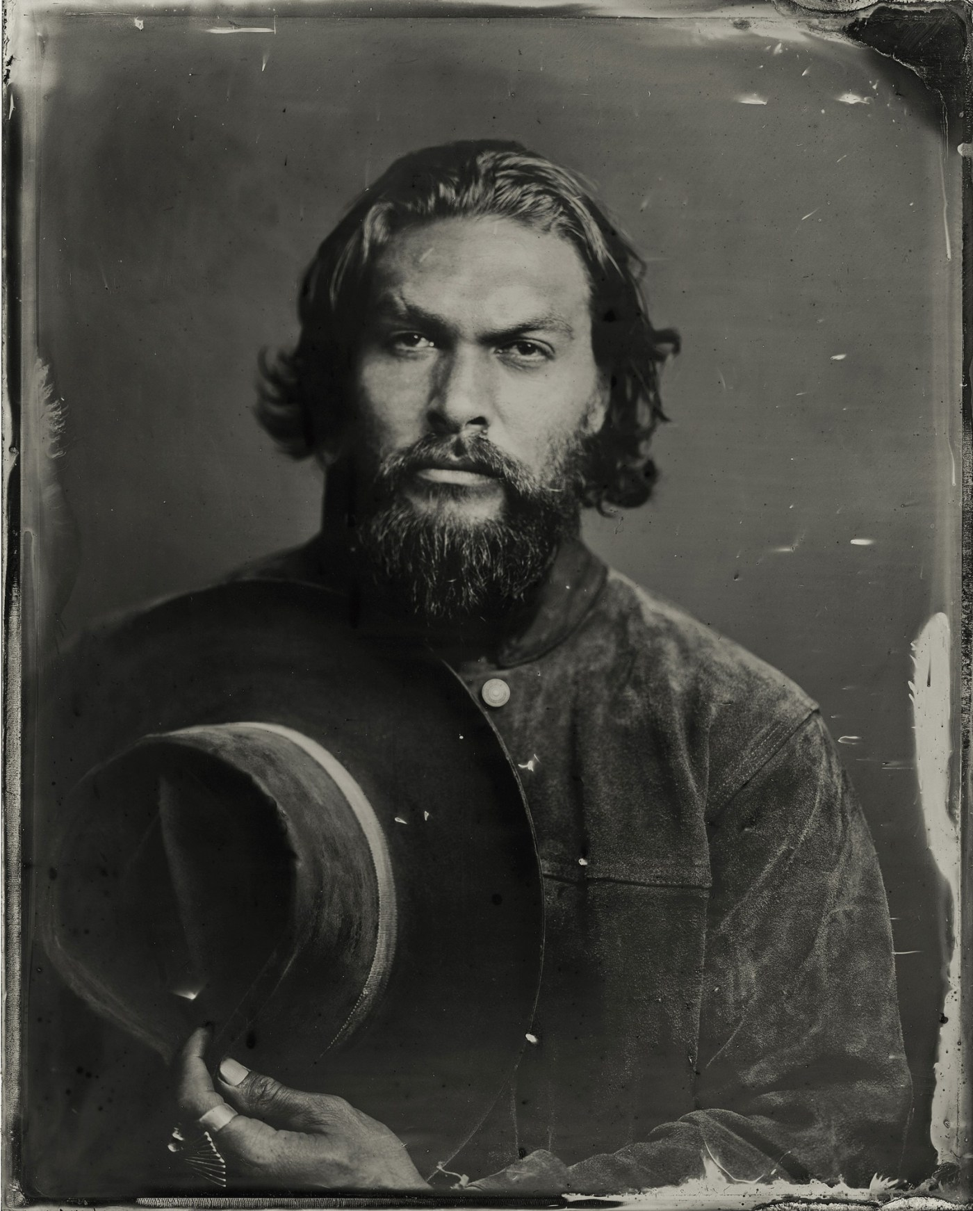 Jason Momoa Tintype by Victoria Will