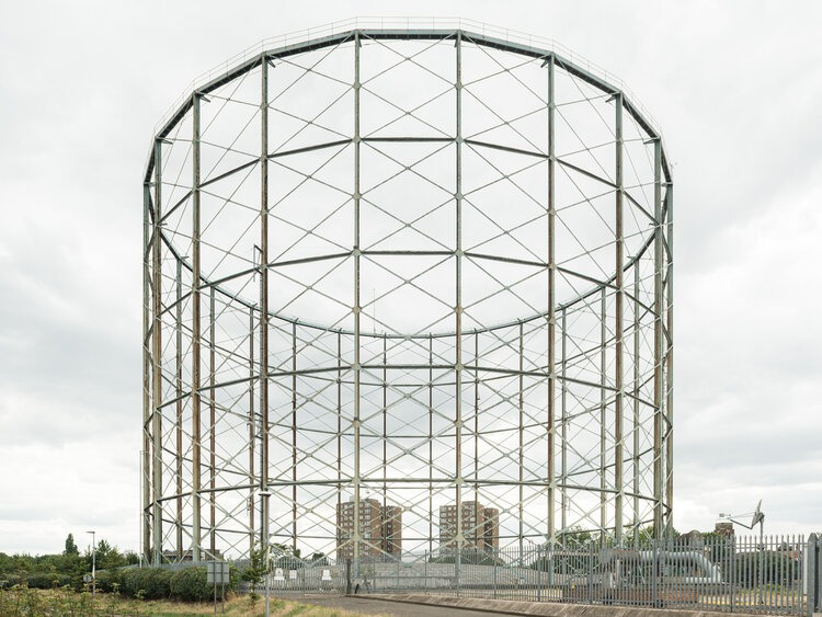 Old Kent Road Gas Works by Francesco Russo