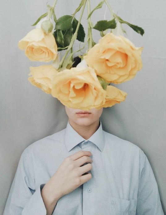 Art of Self Portraiture by Tika Jabanashvili - autoportrait