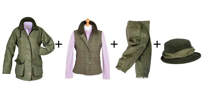 Hoggs Caledonia Ladies Tweed Collection