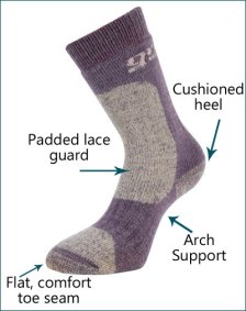 Grisport Endurance Walking Sock