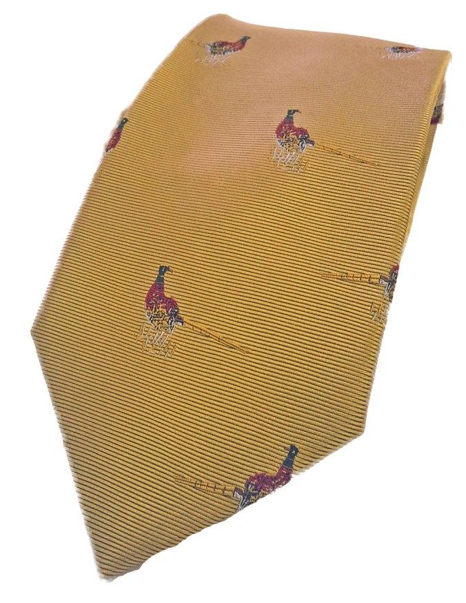 Bonart Pheasant Silk TIe