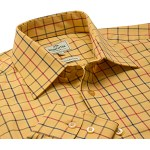 Hoggs of Fife Governor Premier Tattersall Shirt - Shooting Clothing