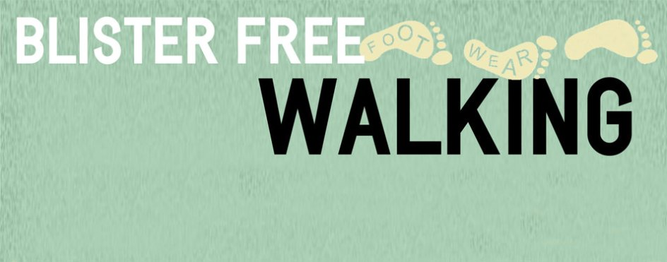 Blister free walking infographic