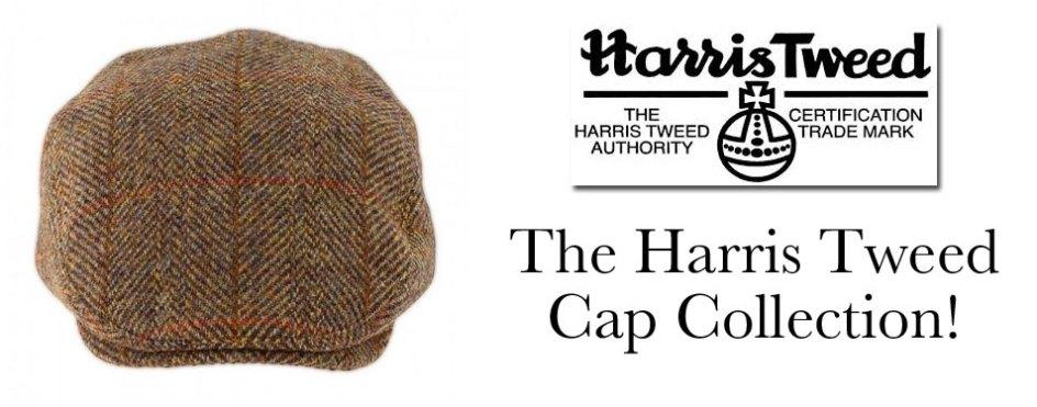 70c949c4be8 Harris Tweed Cap - The Classic Range!