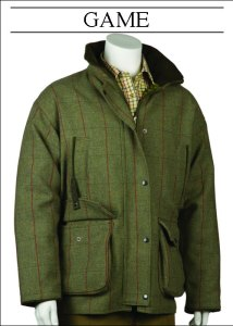 Bonart Game Tweed Shooting Jackets