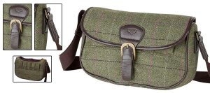 Hoggs of Fife Caledonia tweed cartridge bag
