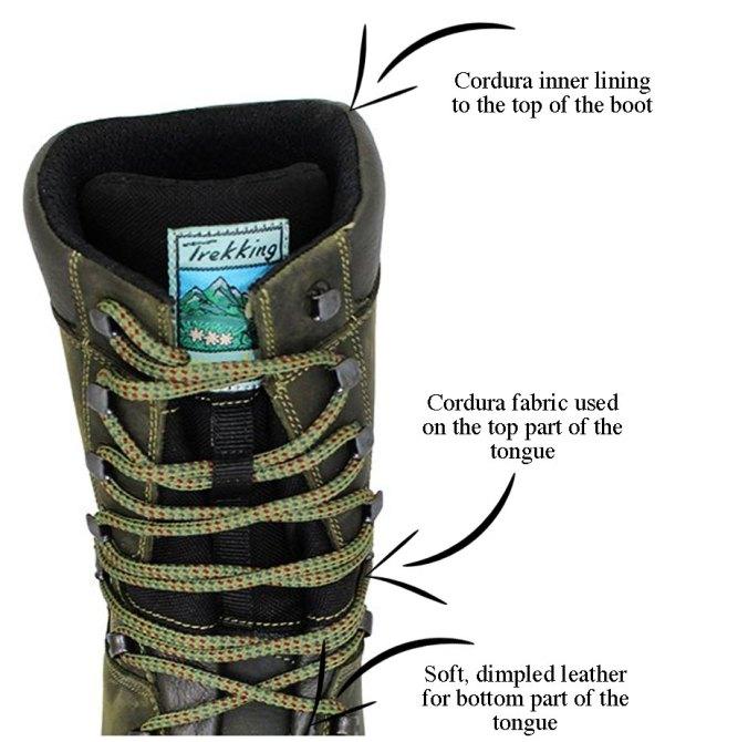 Grisport Keeper boot inner lining