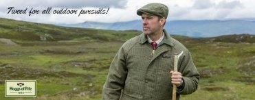 Autumn News | Latest Mens Hoggs of Fife Tweeds