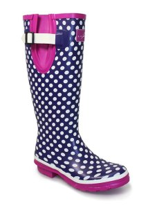 Lunar Polka Dot Wellingtons