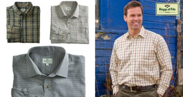 Hoggs of Fife shirts – you just know they 'ooze' quality!