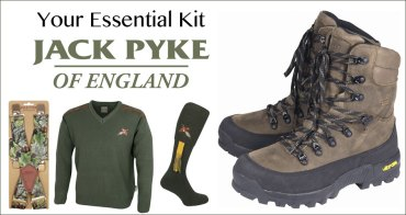 The Essentials: Jack Pyke clothing, footwear and accessories
