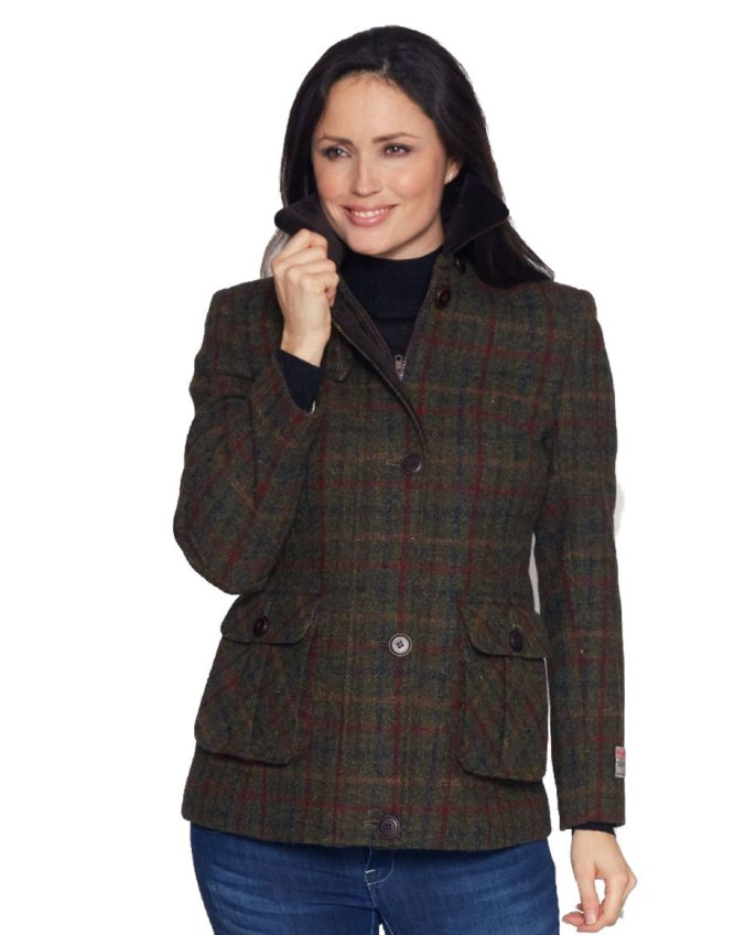 Harris Tweed Beth Coat