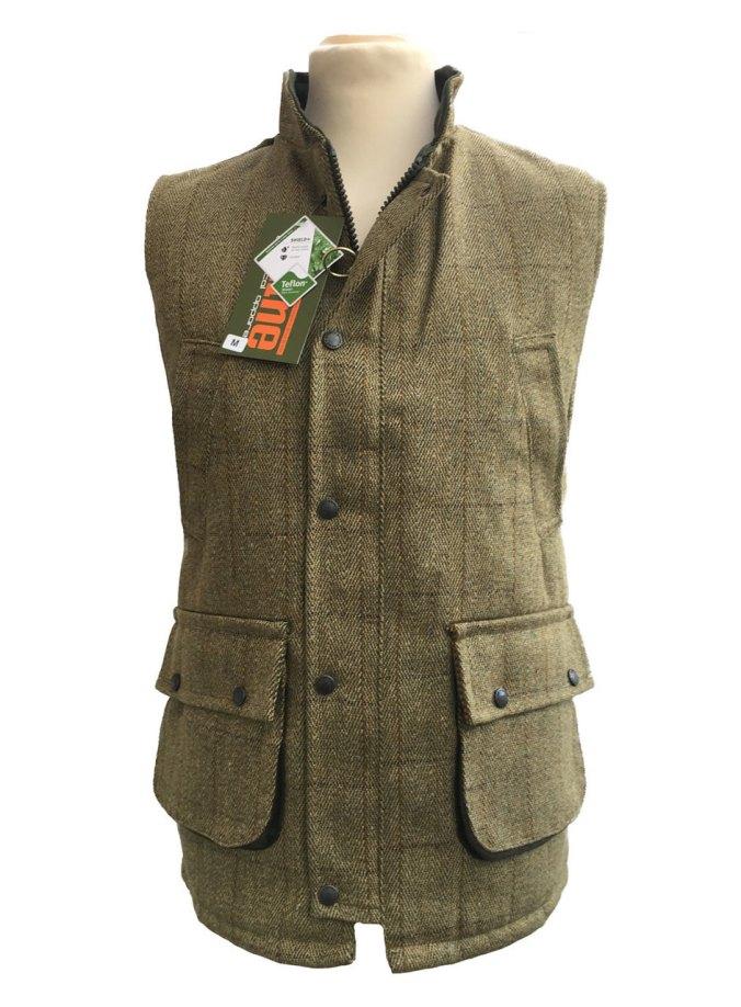 Game Tweed Waistcoat