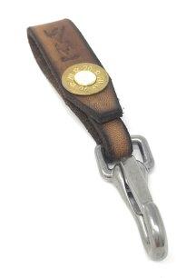 shotgun leather lanyard handmade shooting gift