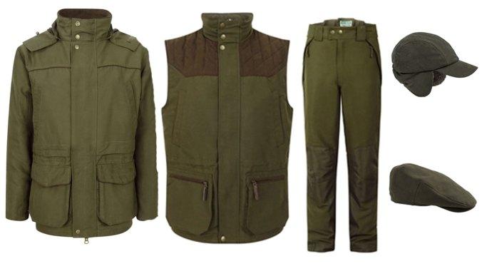 Hoggs of Fife Kincraig jacket, trousers, waistcoat, hats