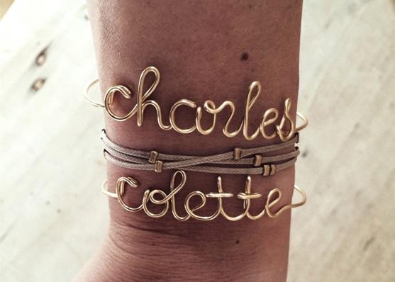 Bracelet Prenom Chiara Stella Home