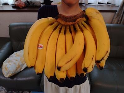 大きいバナナたち♪