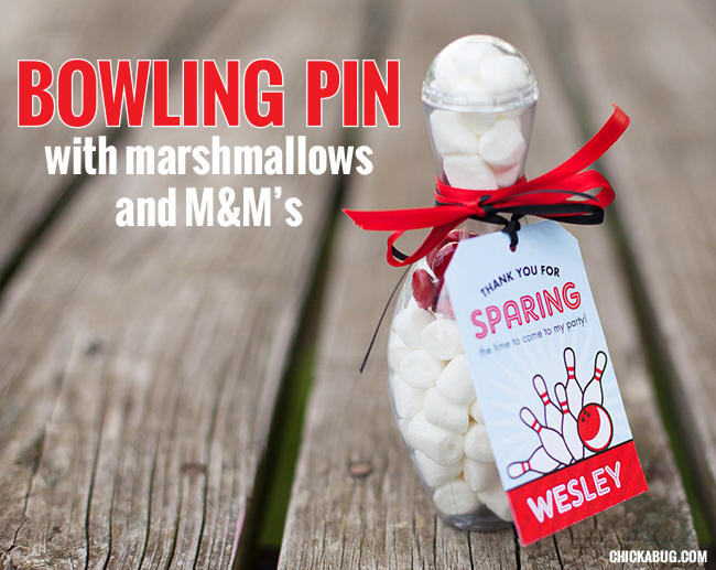 Best Ever Bowling Party Favors Chickabug