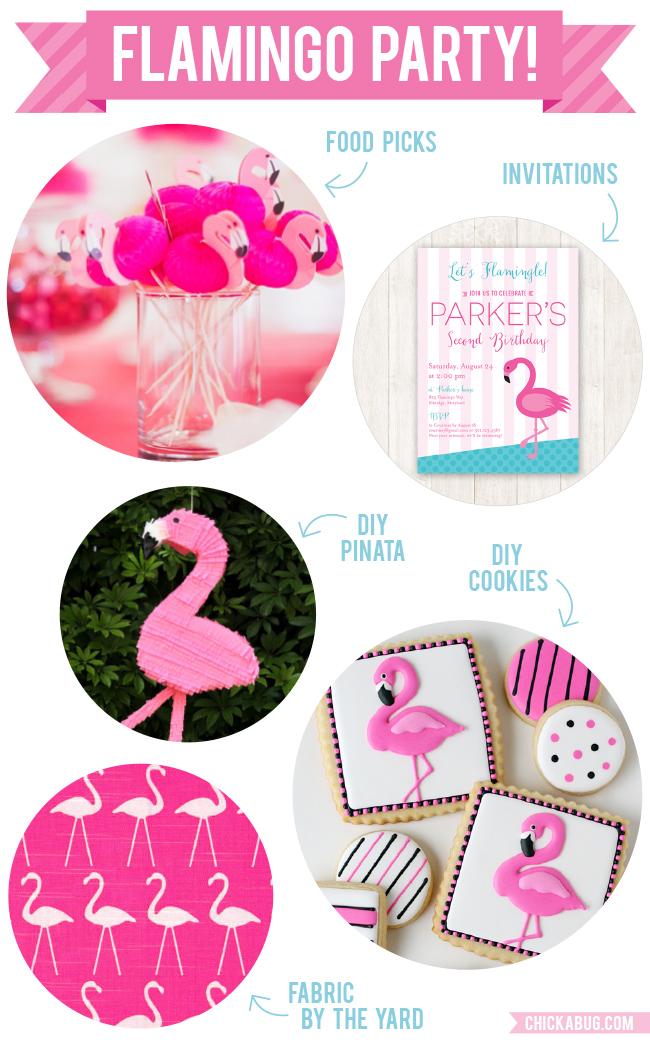 loving flamingo party ideas chickabug