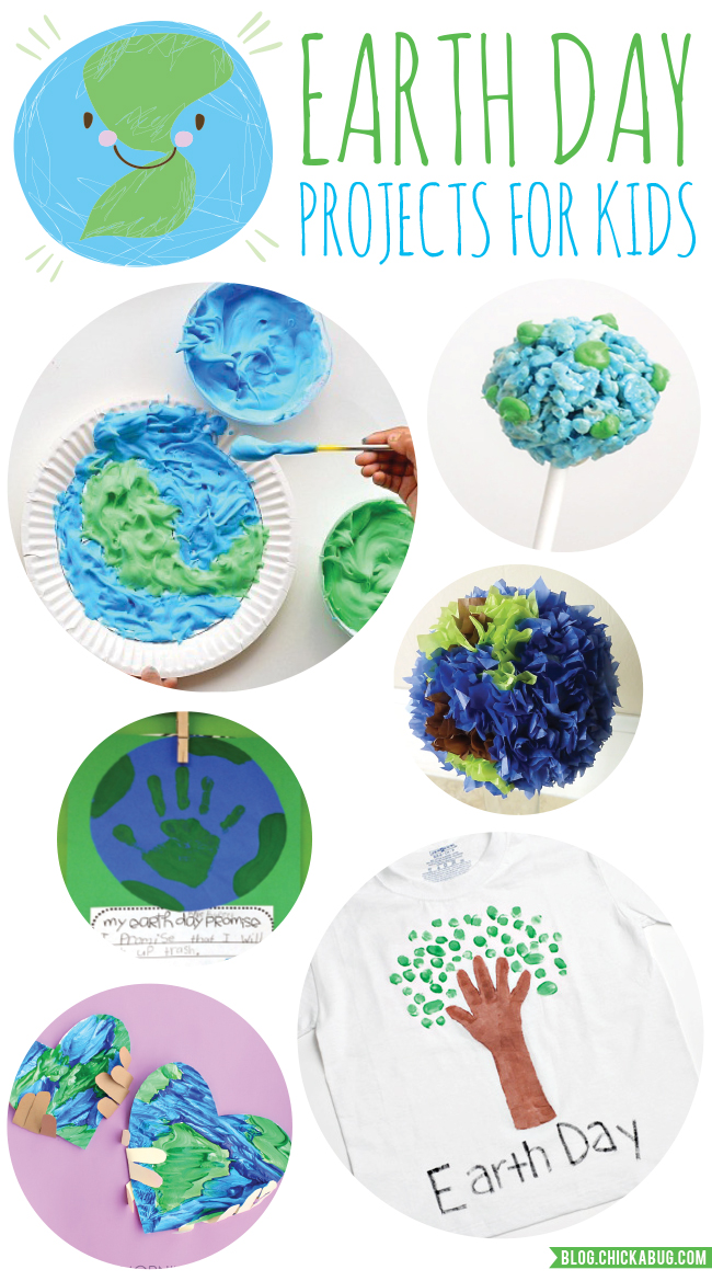 Earth Day Crafts For Kids Chickabug
