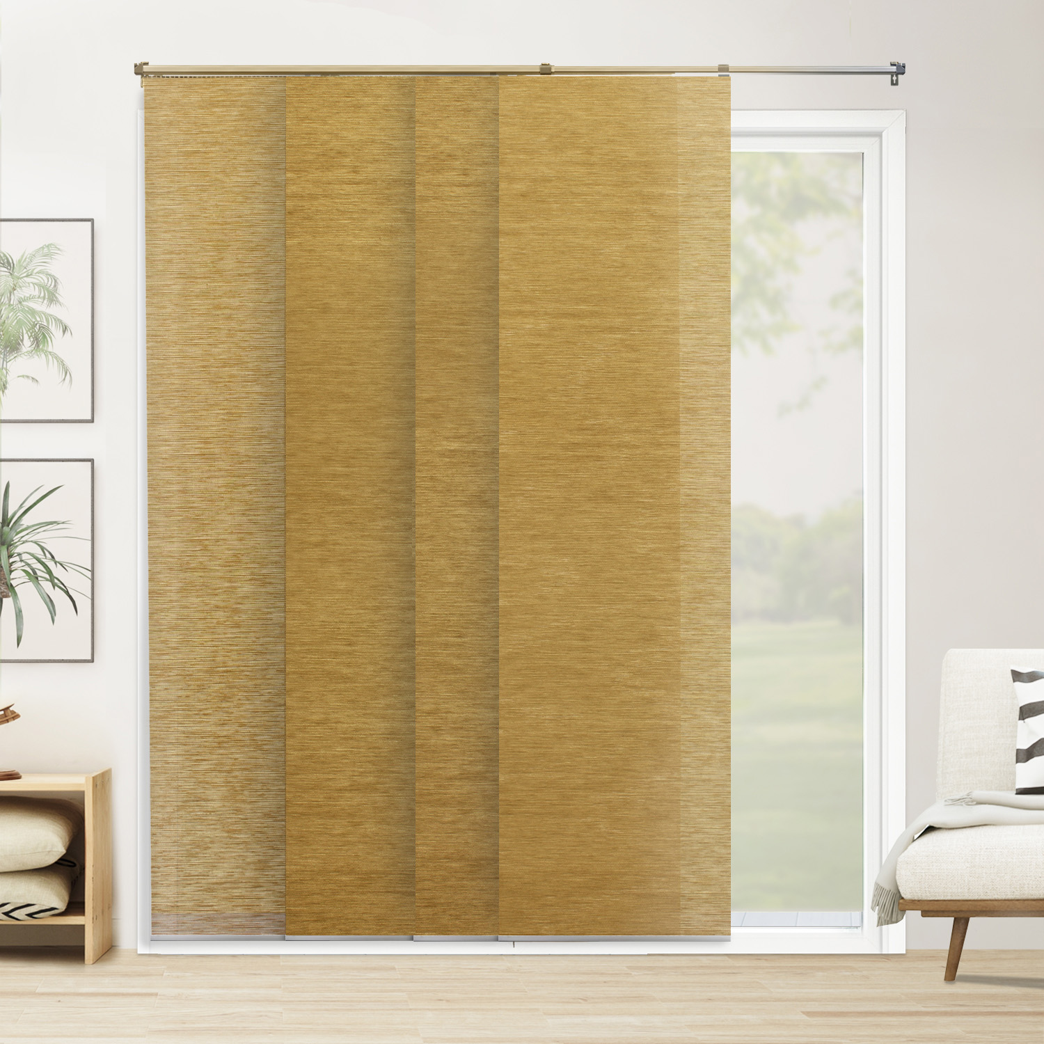 right blinds or shades for your door