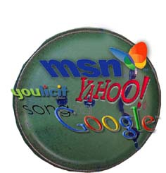 a serving of search engines