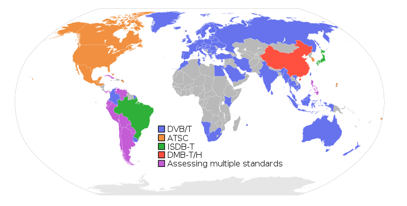 digital broadcasting standards