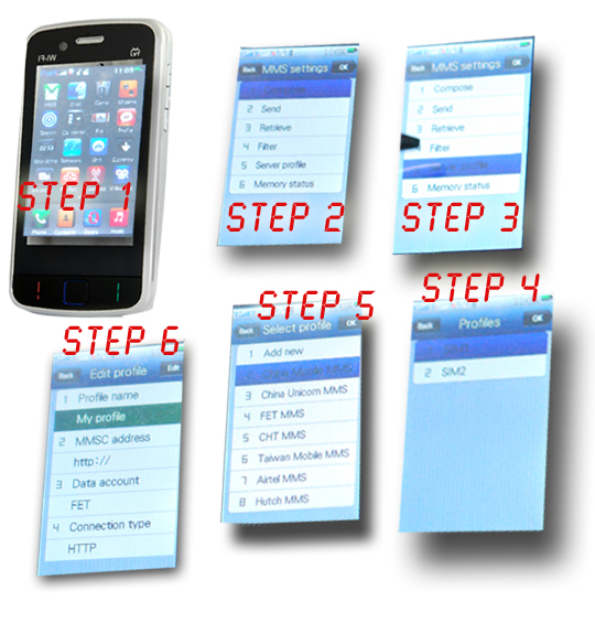how to set up mms on lg phone
