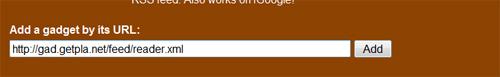 gadget URL