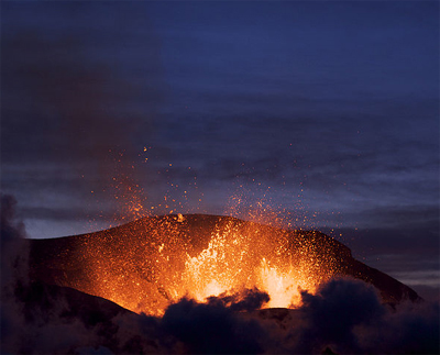volcano in iceland