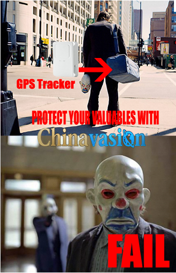 Who Needs Batman When You've Got A GPS Tracker?