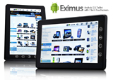 Eximus – Android 2.1 Tablet with 7 Inch Touchscreen and WiFi