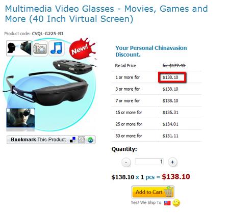 Multimedia Video Glasses