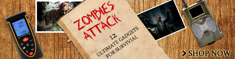 zombie attack gadget promotion