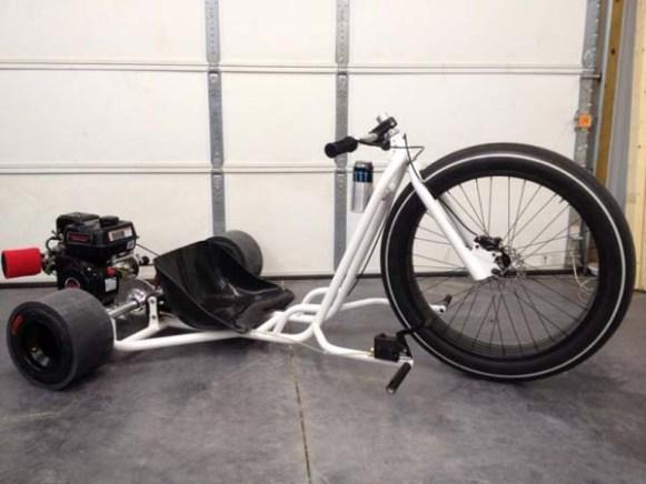 The Big Wheel Drift Trike Makes Riders Feel Like a Kid Again
