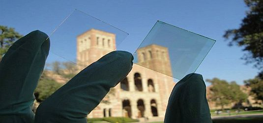UCLA-Transparent-Solar-Cells