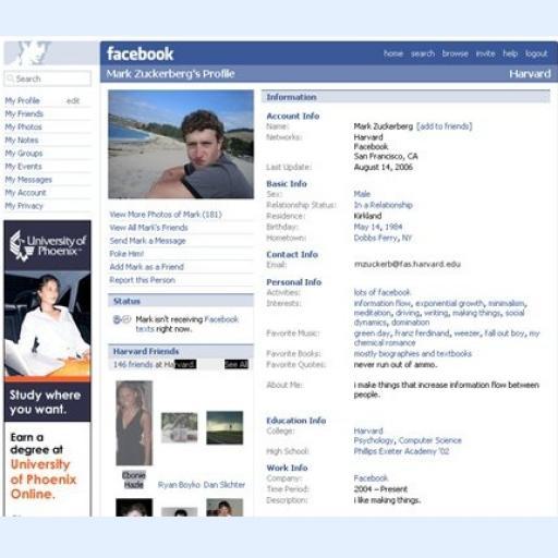 facebook first design