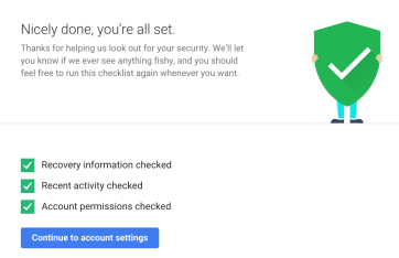 Google-Account-Security-Checkup