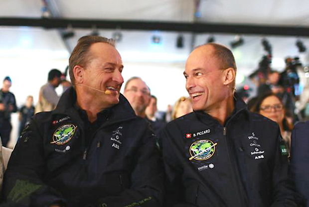 Solar-Impulse-2-pilots