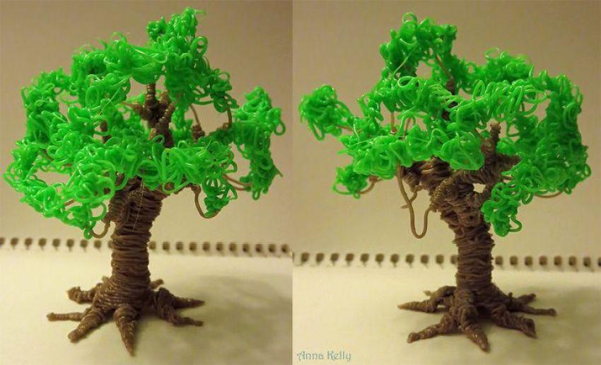 3d doodler tree