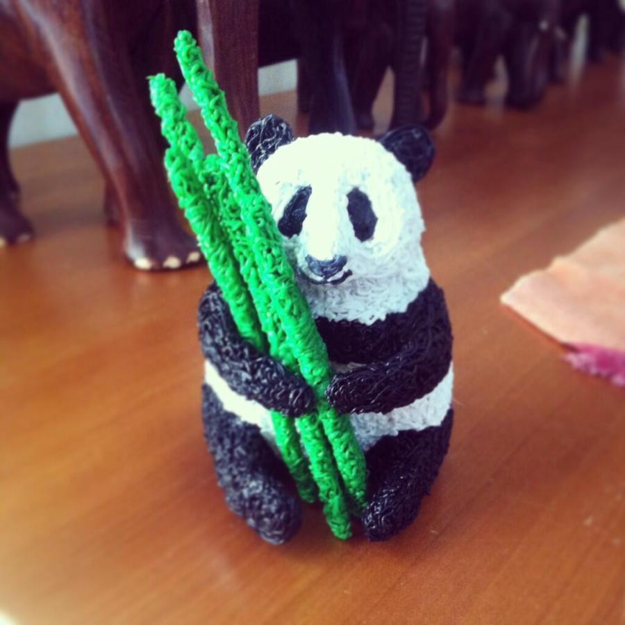 3d printing pen panda bear
