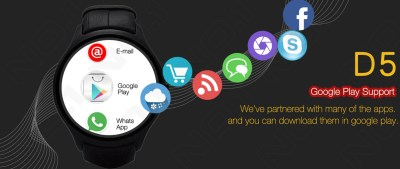 NO.1 D5 Android Smart Watch