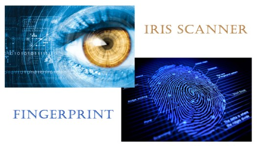 iris scanner vs fingerprint