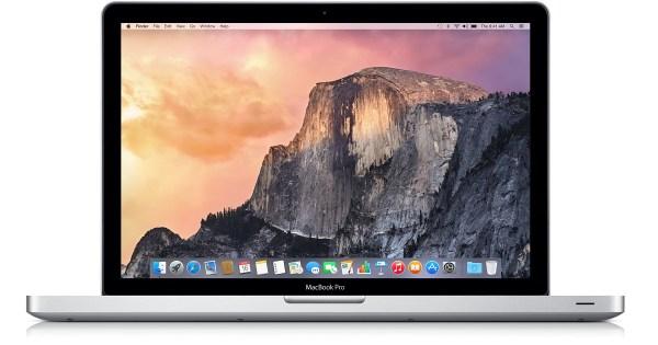 apple laptop